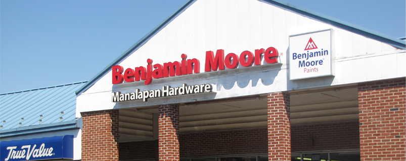 Manlapan Hardware has just opened a second location, specializing in paint samples and design services. See the address for our newest location on the Location & Hours tab.